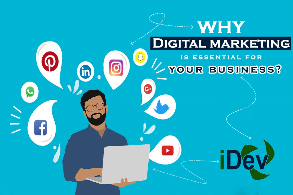 Why Digital Marketing is Essential for your Business?